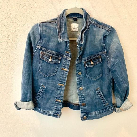 J. Crew Jackets & Blazers - JCREW lightweight denim jacket SZ Small